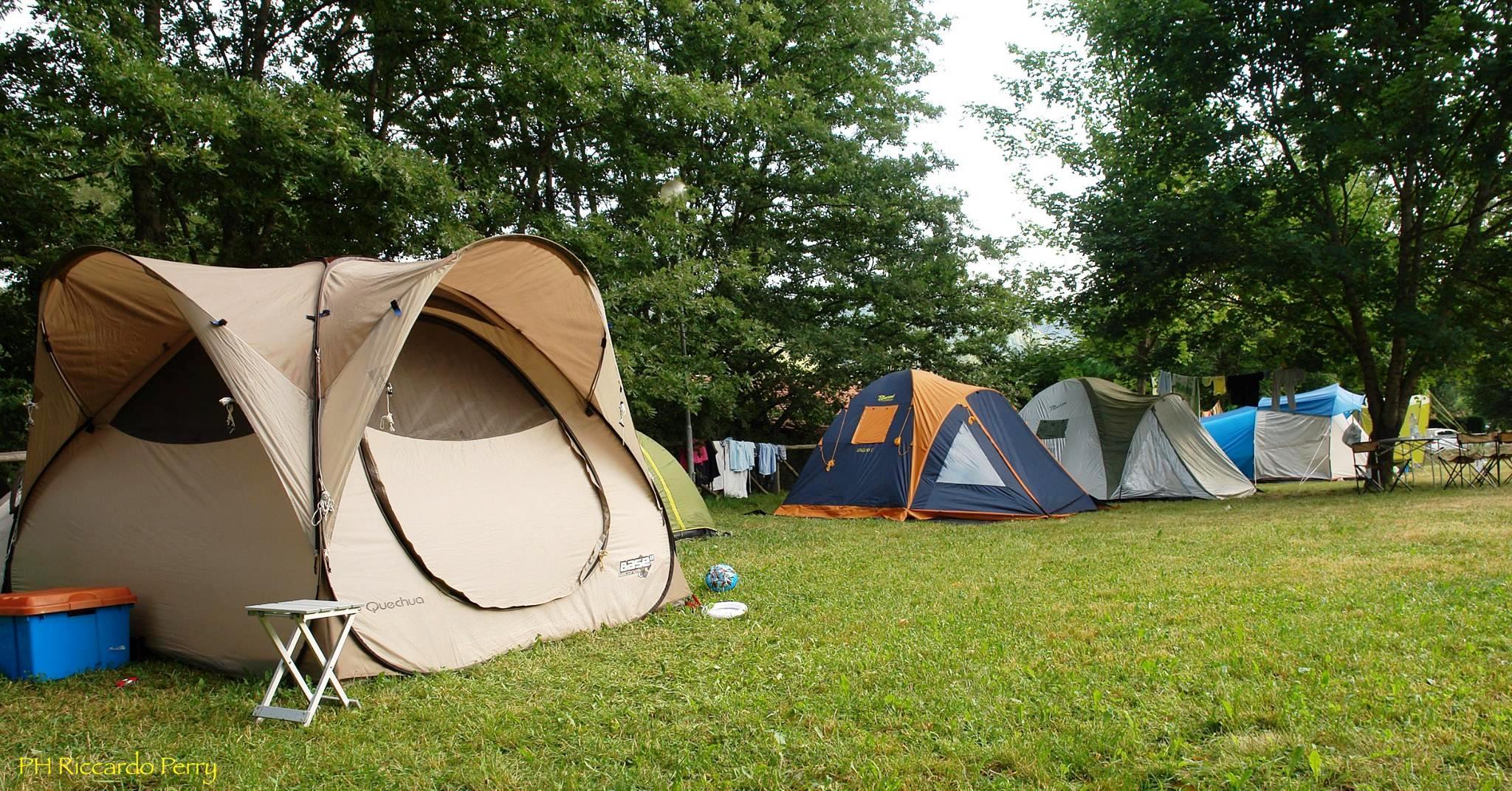 Piazzole tende e camper